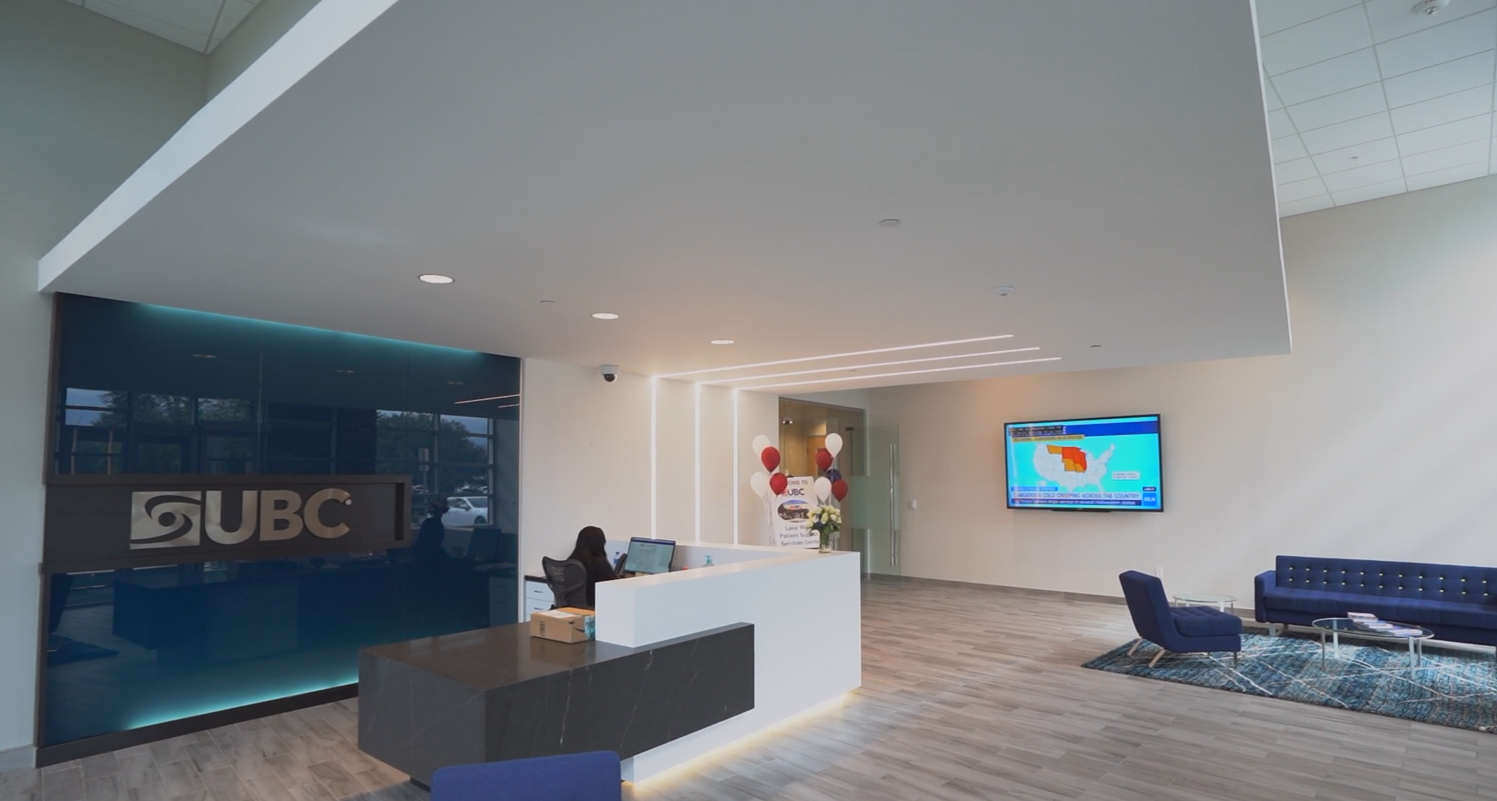 UBC expands with the inauguration of its new 43,000 square foot center in Lake Mary, Florida. Image