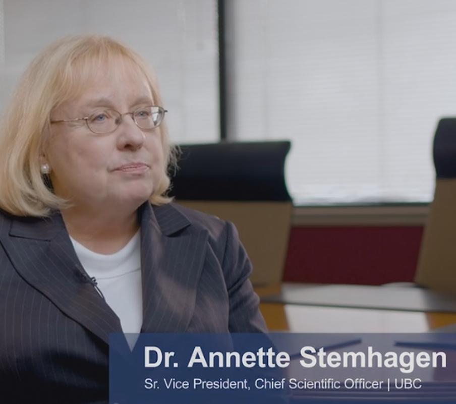 Dr. Annette Stemhagen, SVP & Chief Scientific Officer, speaks to Pregnancy Exposure Registries (PERs). Image