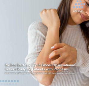 Rolling Start-Up Key in Global Observational Cohort Study for Patients with Psoriasis Image