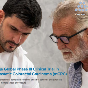 Large Global Phase III Clinical Trial in Metastatic Colorectal Carcinoma (mCRC) Image