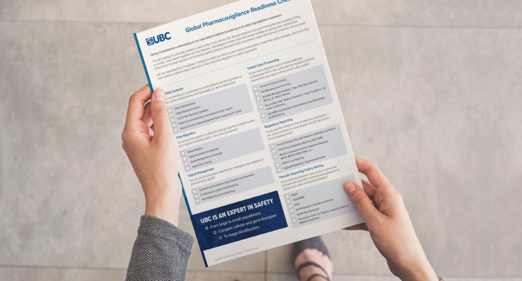 PV readiness checklist