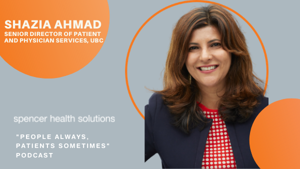 Patient Engagement podcast with Shazia Ahmad