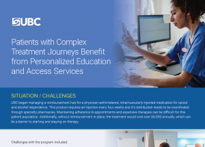 Personalized Patient Support Case Study Preview